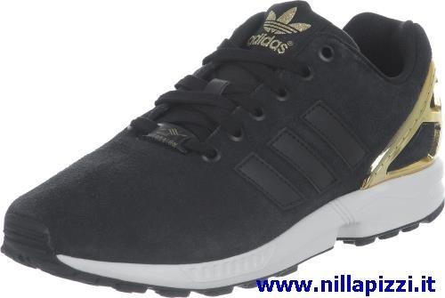 sale retailer 93b5a 23785 Scarpe Adidas Nere E Dorate