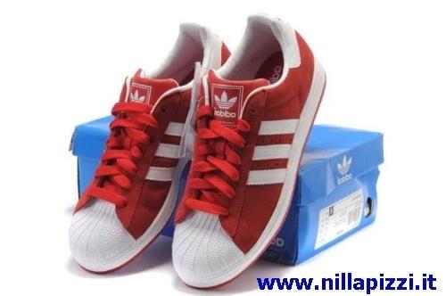 Scarpe Adidas Trainer Rosse nillapizzi.it