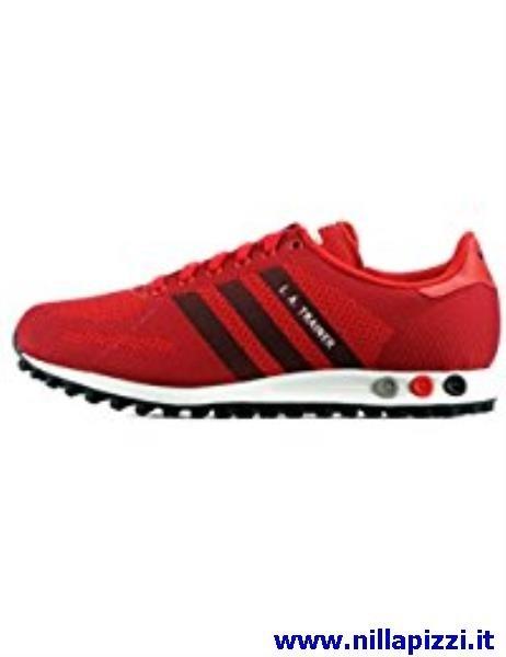 la trainer adidas rosse