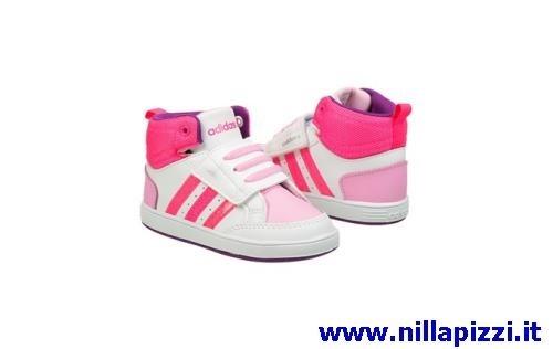 adidas neo bambina rosa