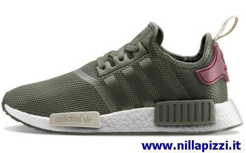 scarpe adidas uomo verde militare