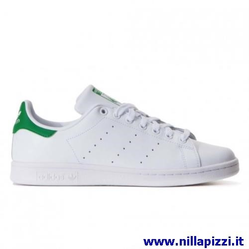 scarpe bianche verdi adidas