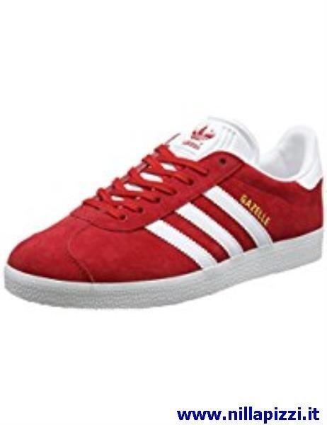 adidas scarpe bianche e rosse