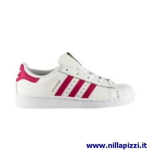 adidas bianche e rosse