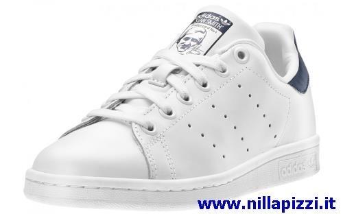 Scarpe Adidas Bianche E Blu nillapizzi.it