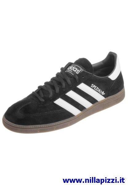 scarpe adidas basse nere