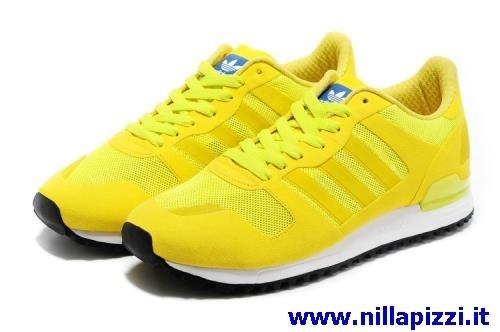 scarpe adidas gialle