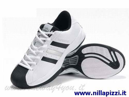 scarpe adidas nere bianche