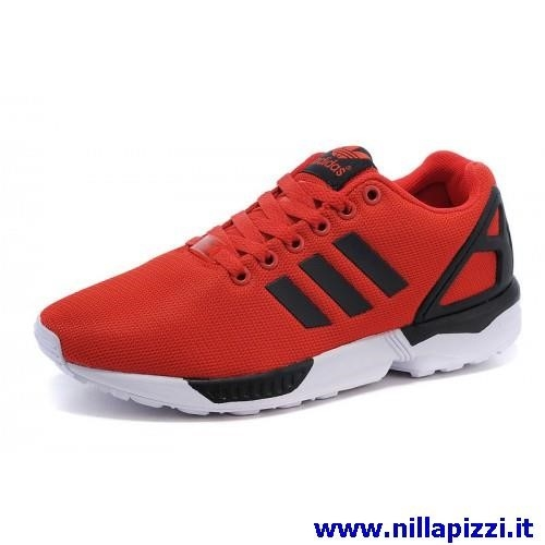 scarpe adidas nere e rosse